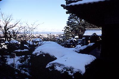 市内冬景色